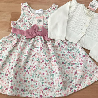 WILL MERY - 新品 ワンピースセット 80   lily ivory  will mery