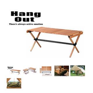 コールマン(Coleman)のHangOut(ハングアウト) ポール ローテーブル 木製 ウッド テーブル(ローテーブル)