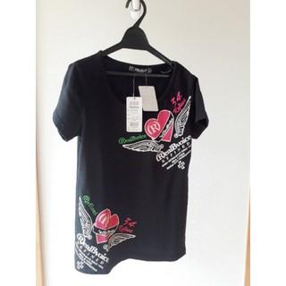 リアルビーボイス(RealBvoice)の【新品】リアルビーボイス RealBvoice  レディースM Tシャツ黒(Tシャツ/カットソー(半袖/袖なし))