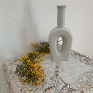 マットホワイトフラワーベース(花瓶)