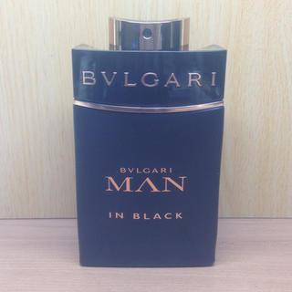 ブルガリ(BVLGARI)の【新品同様】国内正規品 100ml ブルガリ マン イン ブラック EDP(香水(男性用))
