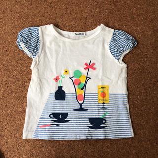 ファミリア(familiar)のファミリア Tシャツ パフスリーブ(Tシャツ/カットソー)