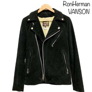 バンソン(VANSON)の◎美品 バンソン x ロンハーマン 別注 c2 ライダース vanson (ライダースジャケット)