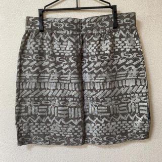 ステューシー(STUSSY)のタイトスカート(ミニスカート)