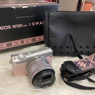 キヤノン(Canon)の[送料無料]canon eos m100 ゼット(コンパクトデジタルカメラ)