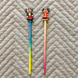 ディズニー(Disney)のディズニー えんぴつ2本セット レトロ(鉛筆)