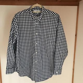 アーバンリサーチROSSO ギンガムチェックシャツ Lサイズ 新品同様