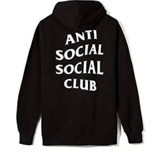アンチ(ANTI)のassc ANTI SOCIAL SOCIAL CLUB パーカー (s)(パーカー)