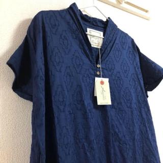 ネストローブ(nest Robe)のイチアンティークス☆半袖ロングワンピース(ロングワンピース/マキシワンピース)