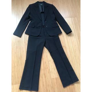 スーツ レディース 2点セット 9号 黒(スーツ)