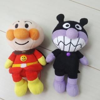 アンパンマン(アンパンマン)のアンパンマン♡バイキンマン ぬいぐるみ(ぬいぐるみ/人形)