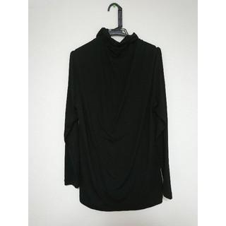 ジーユー(GU)のヒートテック風 XLサイズ タートルネック ブラック メンズ 服(その他)