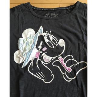 ディズニー(Disney)のミニー あいのり もも デザイン チュニック(チュニック)