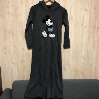 ディズニー(Disney)の最終値下げ!ミッキー パーカーロングワンピース(ロングワンピース/マキシワンピース)