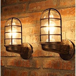 イデー(IDEE)の★新品★インダストリアル 真鍮 ランプ 船舶照明 LED 防雨型 カリフォルニア(天井照明)