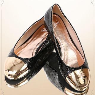 レディー(Rady)のRady クロコフラットシューズ(ローファー/革靴)