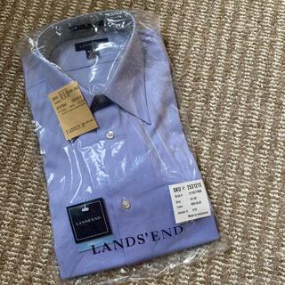 ランズエンド(LANDS'END)のメンズワイシャツ 新品 ランズエンド(シャツ)