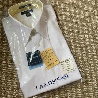 ランズエンド(LANDS'END)のメンズ ワイシャツ 立体襟 男性 フォーマル(シャツ)