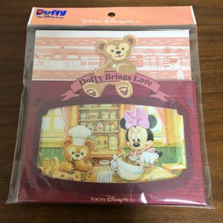 ディズニー(Disney)の【未開封】ディズニー ダッフィー ポストカード スタンド付き(使用済み切手/官製はがき)