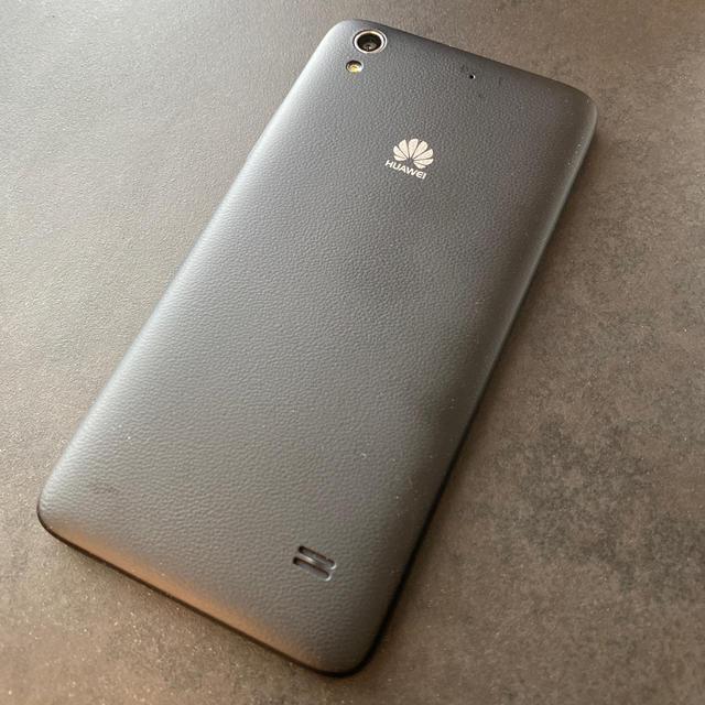 ANDROID(アンドロイド)のHUAWEI Ascend G620S ブラック Simフリー スマホ/家電/カメラのスマートフォン/携帯電話(スマートフォン本体)の商品写真