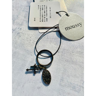 マウジー(moussy)のmoussy●新品タグ付き●リング(リング(指輪))