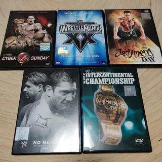 WWE PPV DVD5枚セット(格闘技/プロレス)
