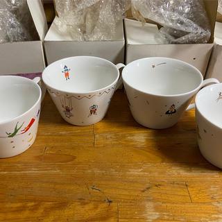 フェリシモ(FELISSIMO)のオーレカップ 4個(グラス/カップ)