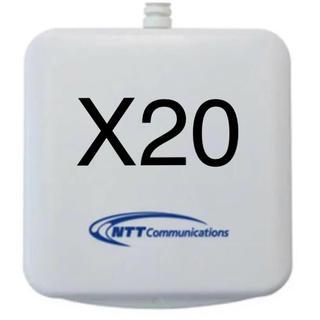エヌティティドコモ(NTTdocomo)の【20個セット】 ICカードリーダーライター ACR39-NTTCom(PC周辺機器)
