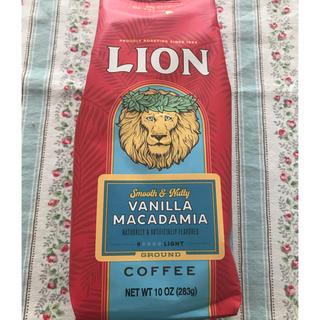 ライオン(LION)のライオンコーヒーバニラマカダミア 283g(コーヒー)