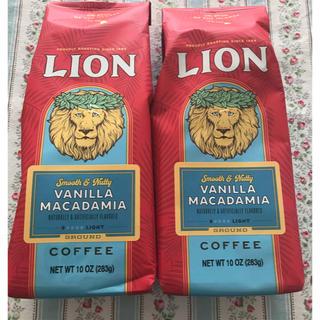 ライオン(LION)のライオンコーヒーバニラマカダミア283g(コーヒー)