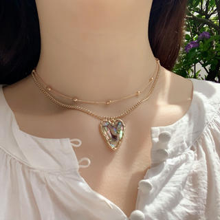 heart shell necklace(ネックレス)