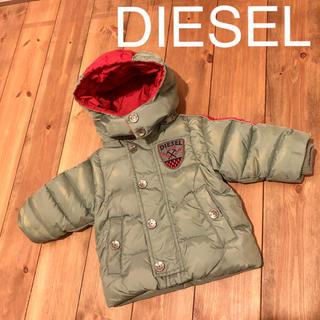 ディーゼル(DIESEL)のディーゼル 80 ダウン コート 6M カーキ Diesel kids(ジャケット/コート)