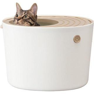 アイリスオーヤマ 上から猫トイレ ホワイト プ 商品説明 【 ¥2,990 商品(鳥)