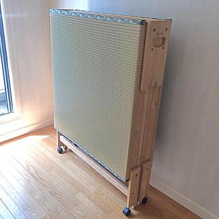中居木工 折り畳みベッド シングル(簡易ベッド/折りたたみベッド)