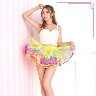 コスプレ☆5枚重ねボリュームパニエスカート(衣装)