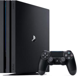 プレイステーション4(PlayStation4)のps4pro 本体 ブラック(家庭用ゲーム機本体)