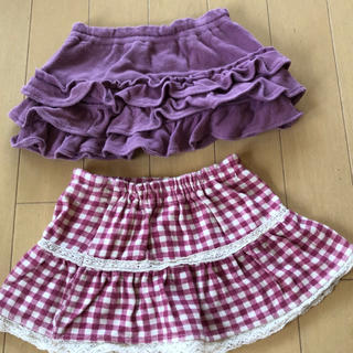 ベルメゾン(ベルメゾン)のベルメゾン ベビー スカート 2枚セット(スカート)
