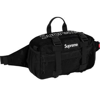 シュプリーム(Supreme)のSUPREME 19fw waist bag black 新品未使用(ボディーバッグ)
