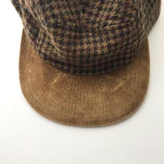 エンダースキーマ(Hender Scheme)のhender scheme tweed jet cap camel/brown(キャップ)