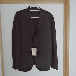ムジルシリョウヒン(MUJI (無印良品))の無印良品 紳士 ジャケット ネイビー Lサイズ(テーラードジャケット)