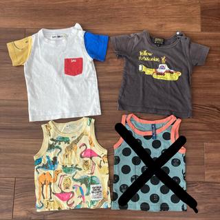 マーキーズ(MARKEY'S)の【超美品】タンクトップ+Tシャツ 80 3枚セット(Tシャツ)