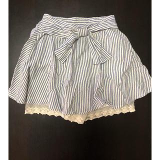 シマムラ(しまむら)のストライプスカート130(スカート)