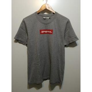 エフィレボル(.efiLevol)のefiLevel ボックスロゴ Tシャツ 2 グレー (Tシャツ/カットソー(半袖/袖なし))