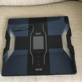 タニタ(TANITA)のインナースキャンデュアル 体組成計 RD-E03ブラック(体脂肪計)