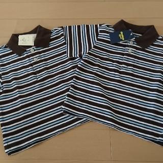 オシュコシュ(OshKosh)の新品!半額以下!80㎝ オシュコシュ 襟付き 半袖 2枚組双子コーデ ポロシャツ(Tシャツ)