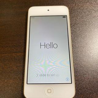 アイポッドタッチ(iPod touch)のiPod touch 64GB 第6世代 A1574 ゴールド(ポータブルプレーヤー)