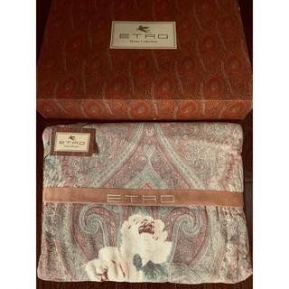 エトロ(ETRO)の新品◆ ETRO◆ エトロ タオルケット 綿毛布 綿100% 西川産業 日本製(毛布)