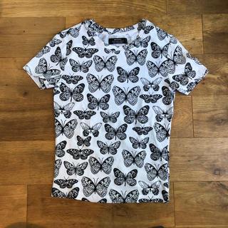 ベルシュカ(Bershka)のBershka Tシャツ バタフライ柄 130cm(Tシャツ/カットソー)