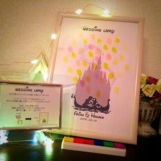 結婚式 ウェディングツリー ディズニー ハンドメイドのウェディング(ウェルカムボード)の商品写真