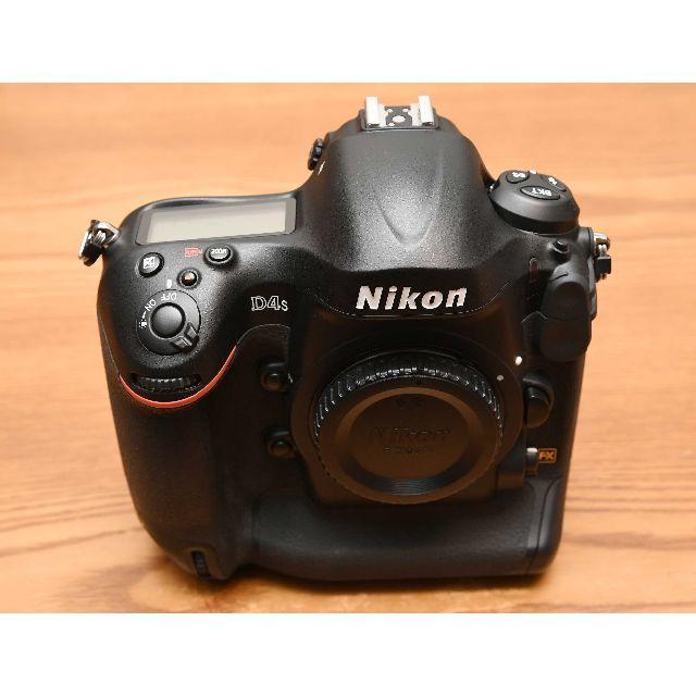 Nikon(ニコン)のニコン「D4s」ボディ 美品 (完動品) ショット数106,000回以下 スマホ/家電/カメラのカメラ(デジタル一眼)の商品写真